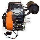 Бензиновый двухцилинровый двигатель LIFAN 2V80F-2A 29 л.с., фото 5