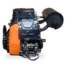 Бензиновый двухцилинровый двигатель LIFAN 2V80F-2A 29 л.с., фото 6
