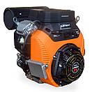 Бензиновый двухцилинровый двигатель LIFAN 2V80F-2A 29 л.с., фото 2