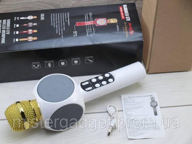 Колонка для караоке + Микрофон 858