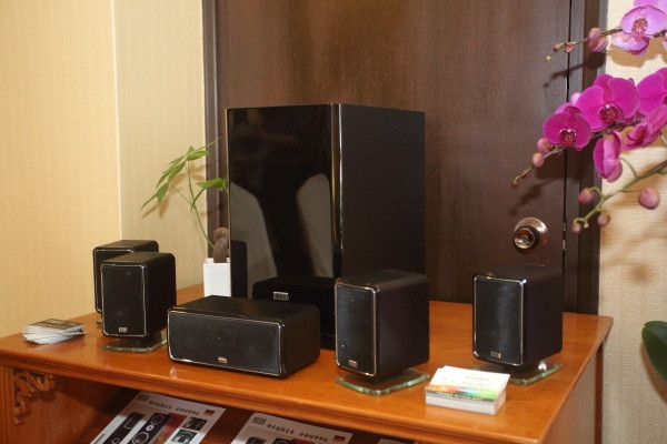 HECO Ambient 5.1A & Ambient Stand 1 HiFi Cinema