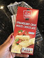 Шоколад белый Fin Carre с клубникой Германия 200г