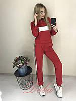 Женский Спортивный Костюм с кожаными вставками, фото 1