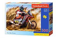 Пазл Castorland Гонщик мотоциклист 300 элементов В-030354 (tsi_54982)