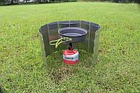 Ветрозащитный экран для газовых горелок и открытого огня