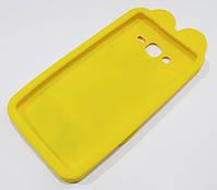 Чехол детский для Samsung Galaxy J7 j700 (2015) / J7 Neo j701 силиконовый игрушка зайчик Джуди желтый, фото 2
