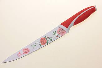 Нож кухонный маталлокерамика 32см в чехле