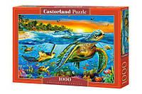 Пазл Castorland Черепахи в океане 1000 элементов С-103652 (tsi_38274)