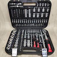 Набор инструментов INTERTOOL ET-8111 STORM  на 111 ед Ключей, головок