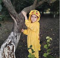 ✅ Детская пижама Кигуруми Покемон Пикачу 120 (на рост 118-128см)