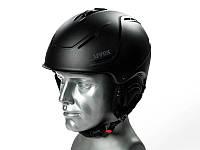 Горнолыжный шлем Uvex P1us 2.0 Black Met Mat 2020, фото 1