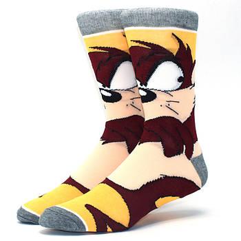 Мультяшные высокие мужские носки Таз