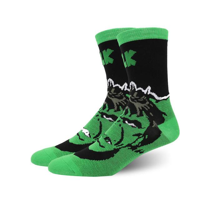 Высокие мужские носки Marvel Халк