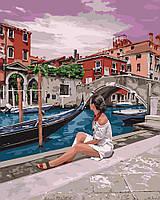 Картина по номерам в плёнке. Удивительная Венеция 40х50см арт. КНО4658