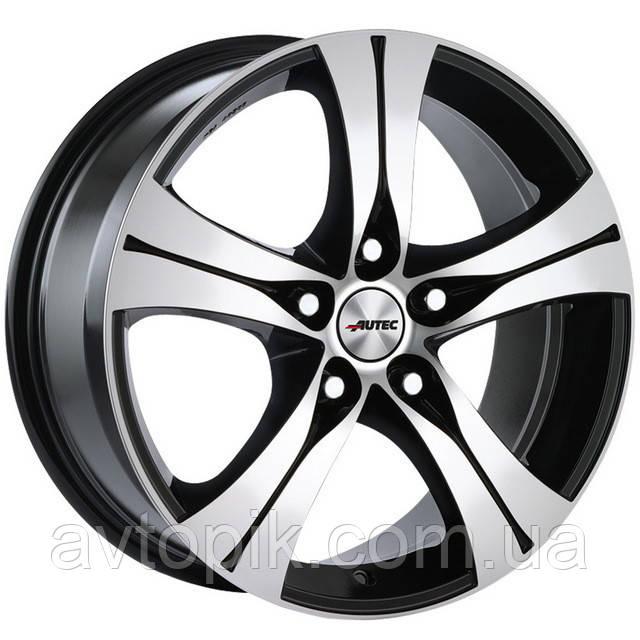 Литые диски Autec Ethos R18 W8 PCD5x108 ET45 DIA70.1 (black polished)