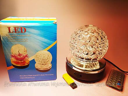 Светодиодная диско - лампа LED full color rotating lamp
