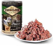 Консервы для собак с уткой и фазаном Carnilove Dog 400 грамм