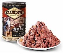 Консервы для собак с ягненком и диким кабаном Carnilove Dog 400 грамм