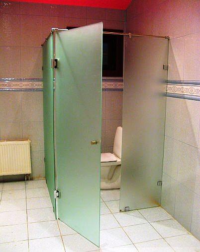 Туалетные перегородки Эксклюзив (Стекло 10мм)