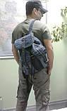Рюкзак из джинсов и ярко рыжей кожи, фото 10