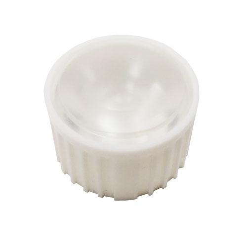 Лінза HX-20-60 60 градусів для світлодіодів standard emitter 1-3W білий корпус  3590