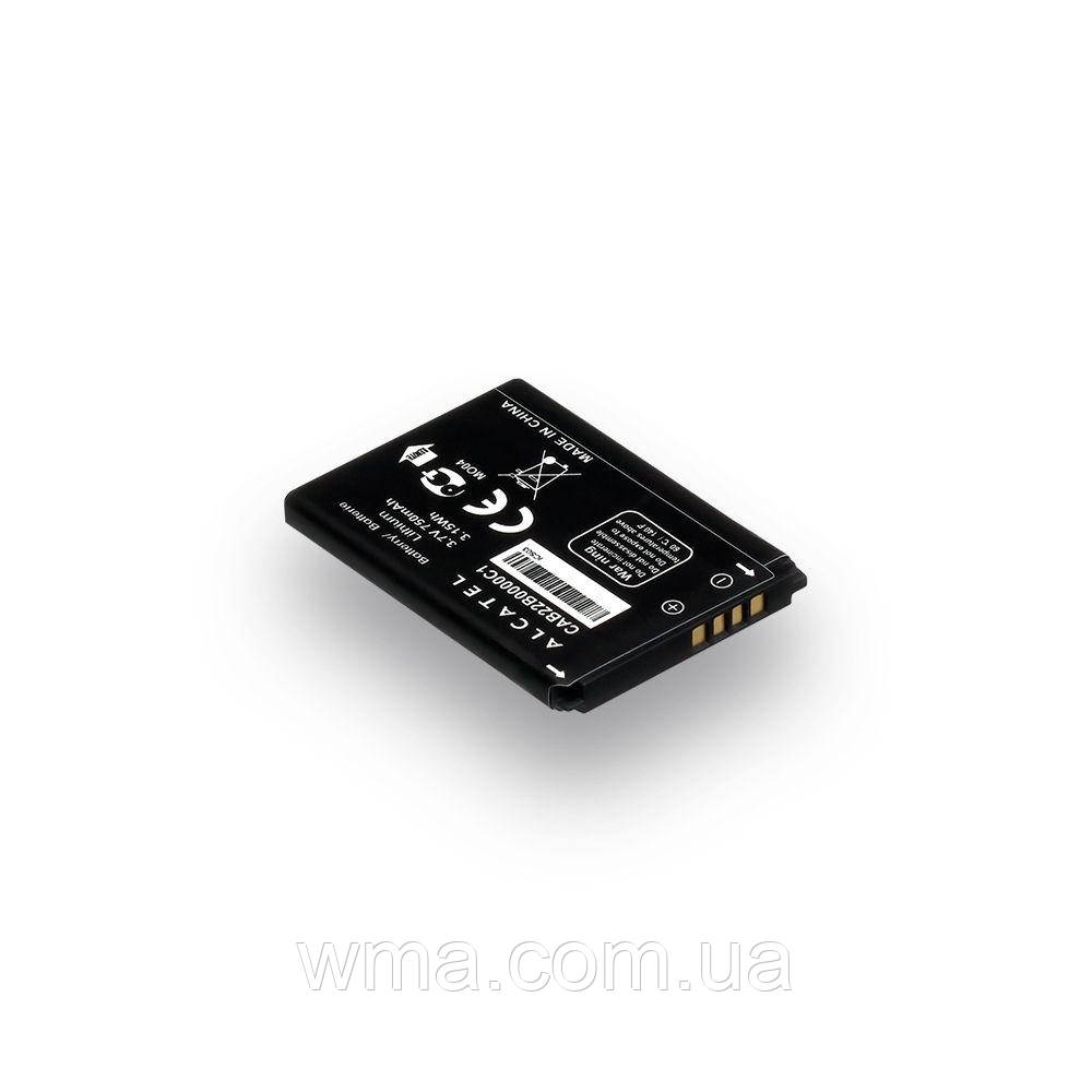 Аккумулятор для телефонов (батарея) Alcatel One Touch 2012D / CAB22B0000C1 Характеристики AAAA