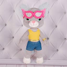 """М'яка іграшка """"Cats"""" 2, Копиця 00074-2, 39x16x12"""
