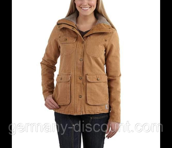 Куртка теплая Carhartt размер M-L