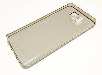 Чехол силиконовый ультратонкий для Samsung Galaxy Note 5 N920 затемненный
