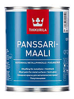 Алкидная противокоррозионная  краска Панссаримаали (Panssarimaali  Tikkurila ) база А  2,7л.