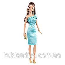 Кукла Барби Высокая Мода в зеленом платье / Barbie The Look Red Carpet Green Dress