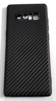 Чехол для Samsung Galaxy Note 8 N950 силиконовый карбон