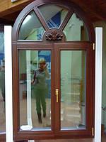 Вікна  та двері деревяні Модерн