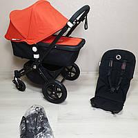 Детская коляска Bugaboo Cameleon 3 Black&Orange Бугабу Камелеон
