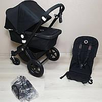 Детская коляска Bugaboo Cameleon 3 All Black Бугабу Камелеон