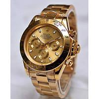 Часы в стиле Rolex Daytona ( gold )