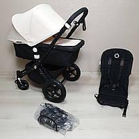 Детская коляска Bugaboo Cameleon 3 Black&Off White Бугабу Камелеон