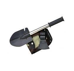 Лопата туристическая универсальная 2Life 5 в 1 в чехле Black 2d-123, КОД: 1292740