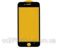 Защитное стекло / Захисне скло iPhone 6, IPhone 6S чорний 3D