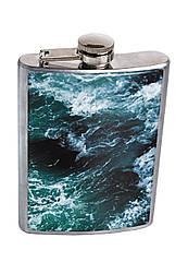 Фляга DevayS Maker DM 01 Морские волны Синяя 26-08-466, КОД: 1239059