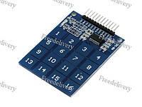 Сенсорная клавиатура TTP229, 16 кнопок, Arduino