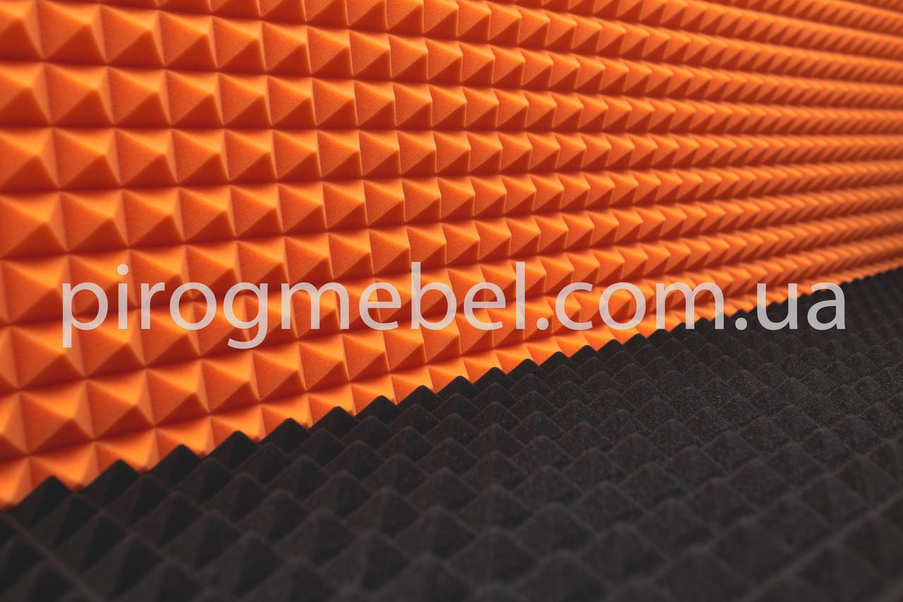 Акустическая плита 1950мм * 950 мм , 50 мм оранж