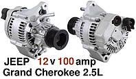 Генератор б/у JEEP Grand Cherokee 2.5TD, TOYOTA Liteace Hiace Land Cruiser 2.0D 2.4D 2.8D, фото 1