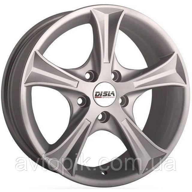 Литые диски Disla Luxury R16 W7 PCD4x108 ET38 DIA67.1 (silver)