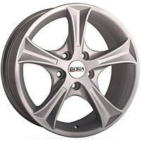 Литі диски Disla Luxury R16 W7 PCD4x108 ET38 DIA67.1 (silver)
