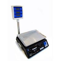Торговые электронные весы до 50 кг 208 + стойка, фото 1