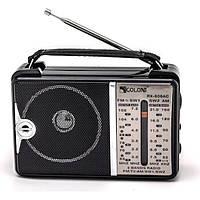Всеволновой радиоприёмник GOLON RX-606 AC Black  1em000869, КОД: 724018