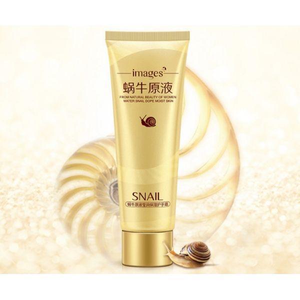 Крем для рук Images Snail Hand Cream с муцином улитки и маслом ши 75 мл