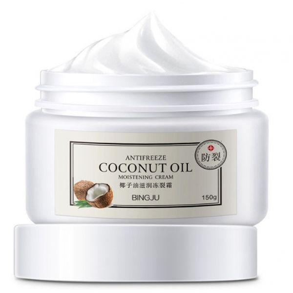 Универсальный крем для лица и тела Bingju с маслом кокоса и Ши 150 мл