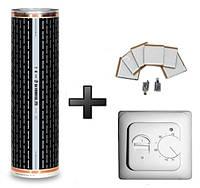 Инфракрасный теплый пол HotFilm 4 м2 880 Вт + Терморегулятор 25880, КОД: 146234